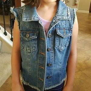 Hand painted vest